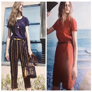艾利欧高端大牌新款欧美夏装折扣女装正品剪标尾货批发