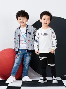 嗒嘀嗒童装2018春装新款
