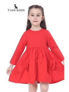 T100春装连衣裙
