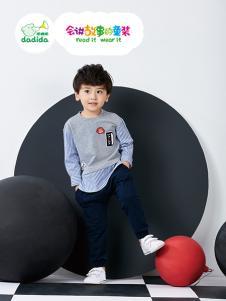 嗒嘀嗒童装2018新款