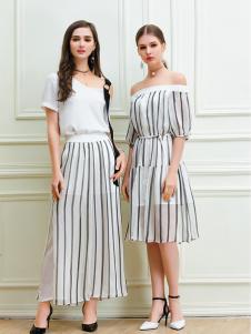 艾丽哲2018闺蜜套裙