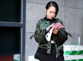 """深圳时装节落幕 街拍的""""至in之风""""还在继续"""