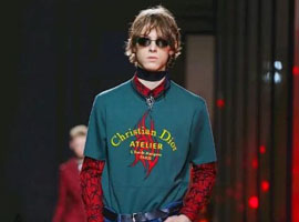 Dior Homme:时装周上那个不羁的男人 有着永恒的青春