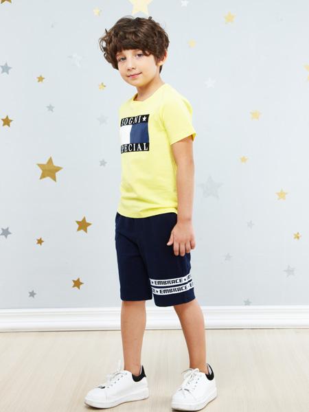 卓维乐男童T恤