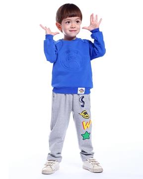 澳恬超级飞侠系列蓝色上衣