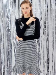迪笛欧18春装新款连衣裙
