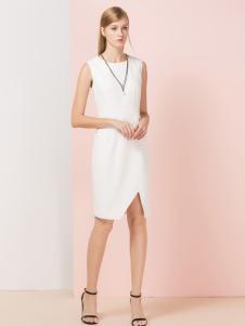 经典故事白色连衣裙