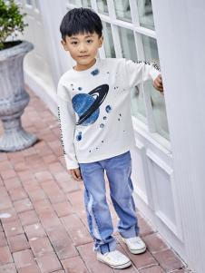 金果果18男大童新款T恤