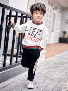 金果果18男小童卫衣