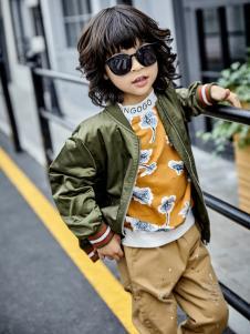 金果果18男大童新款外套