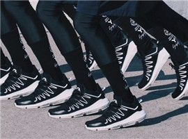 Adidas Y-3携山本耀司打造Kusari鞋款:材质拼接是亮点