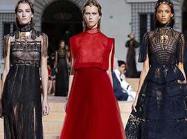 2018春夏巴黎高定时装周喷发出时装设计的灵感与激情
