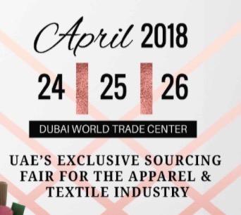 2018第八届中东(迪拜)国际纺织服装及面辅料展览会