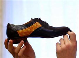 德国鞋匠做出鱼皮鞋并获得著名的巴伐利亚奖