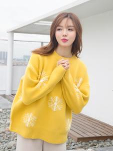 百变伊伊韩版毛衣