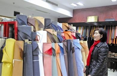 中国鞋都鞋革城集聚效应显现