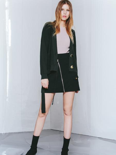 佧茜文女装外套18新款