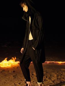 线锁男装设计师范18新款外套