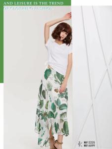 蔓露卡18新款半裙M816599