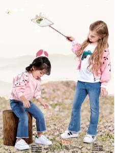 铅笔俱乐部18新款粉色外套