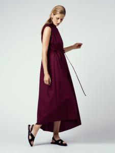 2018唯简尚女装棉麻连衣裙