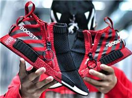 NMD改头换面!adidas最新联名鞋款细节更丰富