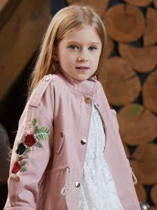 YukiSo童装女童精美刺绣外套