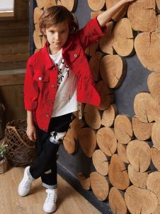 YukiSo童装2018红色衬衫