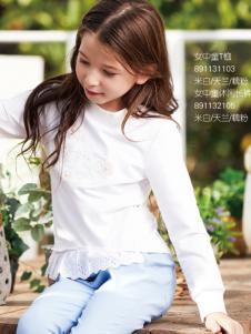 杰米熊女童装甜美上衣