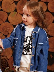 YukiSo童装女小童牛仔外套18新款