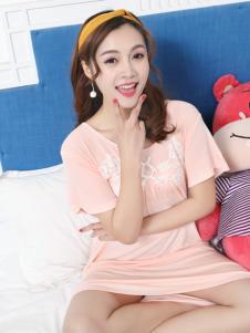 珍妮芬睡衣18甜美粉色系列