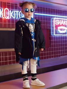 YukiSo童装女小童潮流外套