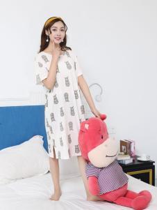 珍妮芬纯棉睡衣