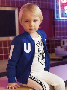 YukiSo童装男小童外套18新款