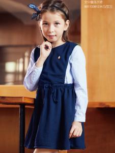 杰米熊女童装甜美连衣裙