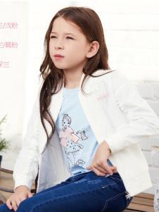杰米熊女童装2018外套