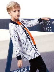 杰米熊童装男童夹克外套