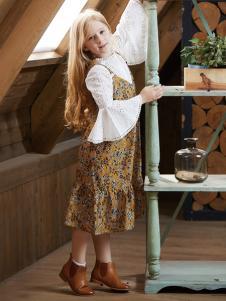 YukiSo童装连衣裙两件套18新款