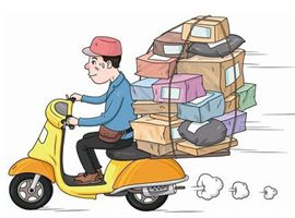 全国1月快递完成39亿件 规模超日本全年邮政快递量
