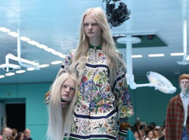 """看完Gucci""""诡异""""的时装秀 我只后悔没多长眼睛"""
