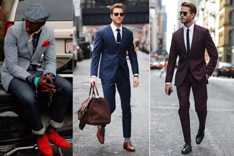 西装要根据自己的体型选择