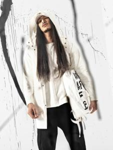 JPE18春装新款白色外套