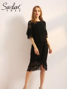 莎斯莱思女装新款蕾丝连衣裙