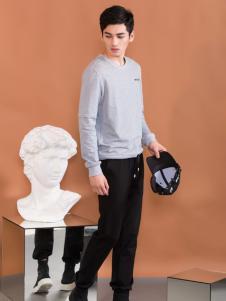 莎斯莱思男装新款纯色T恤