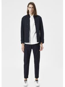 JPE18春装新款黑色短外套