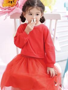 棣仔童装女童连衣裙