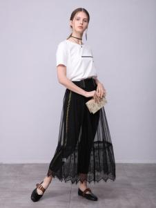 子容2018女装新品半裙套装