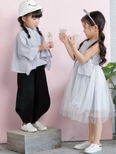 棣仔童装女童文艺套装系列