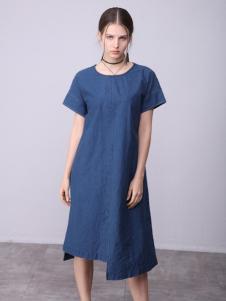 子容2018女装新品简洁大气连衣裙