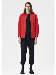 JPE18春装新款红色外套